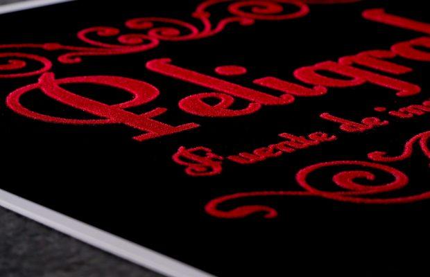 Terciopelo Grafico - texturas especiales - Peligraf